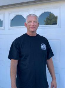 John Chapman, owner of Cal-Western Overhead Doors