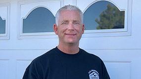 John Chapman, owner Cal-Western Overhead Doors